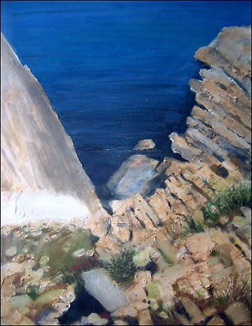 Coast Menorca - framed £350 by alanpeach