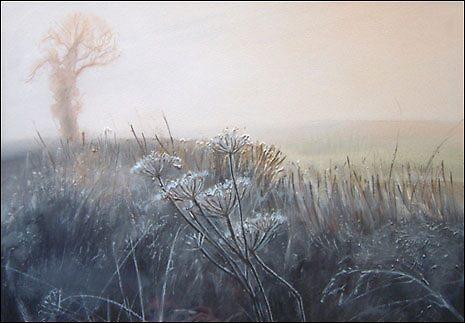Frosty Hedgerow - framed £350 by alanpeach