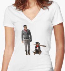 Bisou Shirt mit V-Ausschnitt