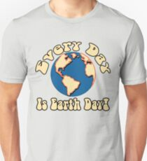 Every Day is Earth Day - Cobalt Unisex T-Shirt