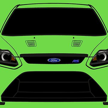 Focus RS Ford Half Cut by Alienxpres51
