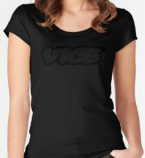 Vice Logo Women's Fitted Scoop T-Shirt