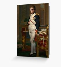 Napoleon Dynaparte Greeting Card