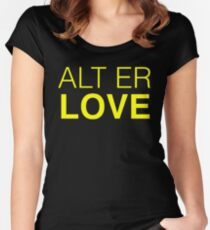 SKAM ALT ER LOVE Women's Fitted Scoop T-Shirt