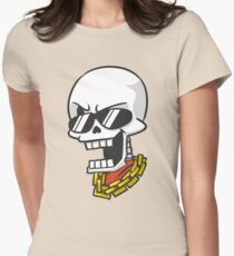 Bulletproof Papyrus Womens Fitted T-Shirt