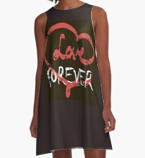 Love forever A-Line Dress