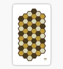 Hexes Chess 6P2 game board Sticker