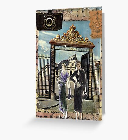 Enough Sight-Seeing;Let's Go Shopping! Greeting Card