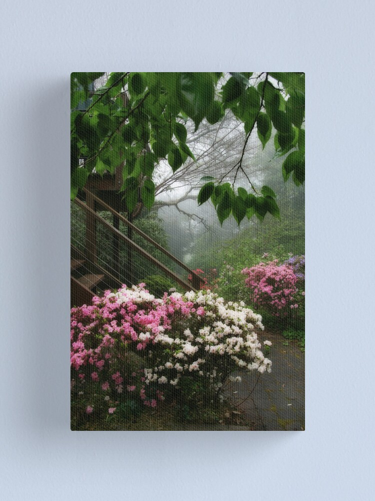 Alternate view of The side stairs Canvas Print