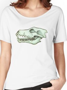 Wolf Skull 2 Women's Relaxed Fit T-Shirt