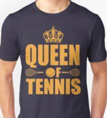 Queen of Tennis Unisex T-Shirt