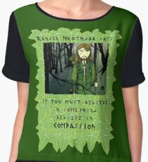 Ranger Hrothgar Says - Believe in Compassion Chiffon Top
