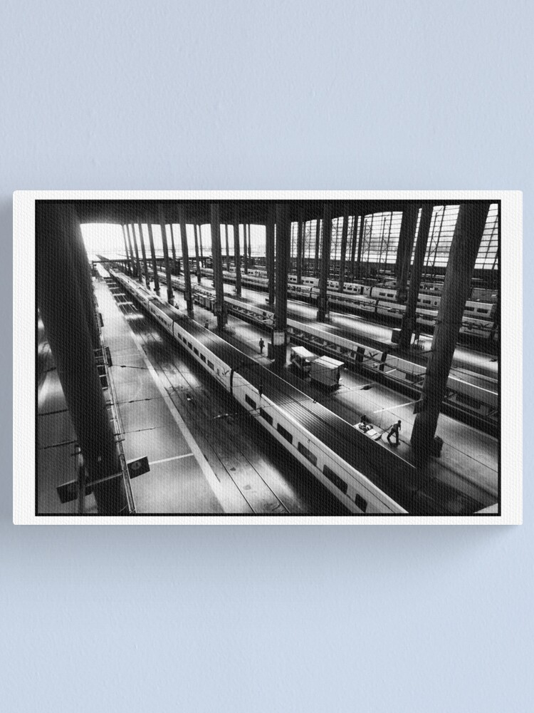 Alternate view of Atoche Train Station Madrid A to B Canvas Print