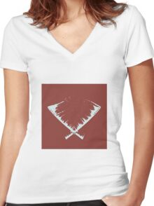 GZA Women's Fitted V-Neck T-Shirt