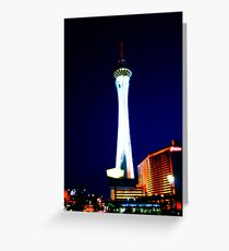 Up to the stratosphere Greeting Card