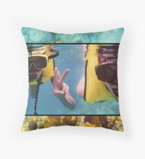 """Underwater Charades"" ...2 Words!... Throw Pillow"