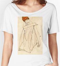 Egon Schiele - Dancer (Die Tanzerin ) 1913 Women's Relaxed Fit T-Shirt