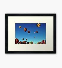 I love the sky! Framed Print