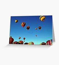 I love the sky! Greeting Card