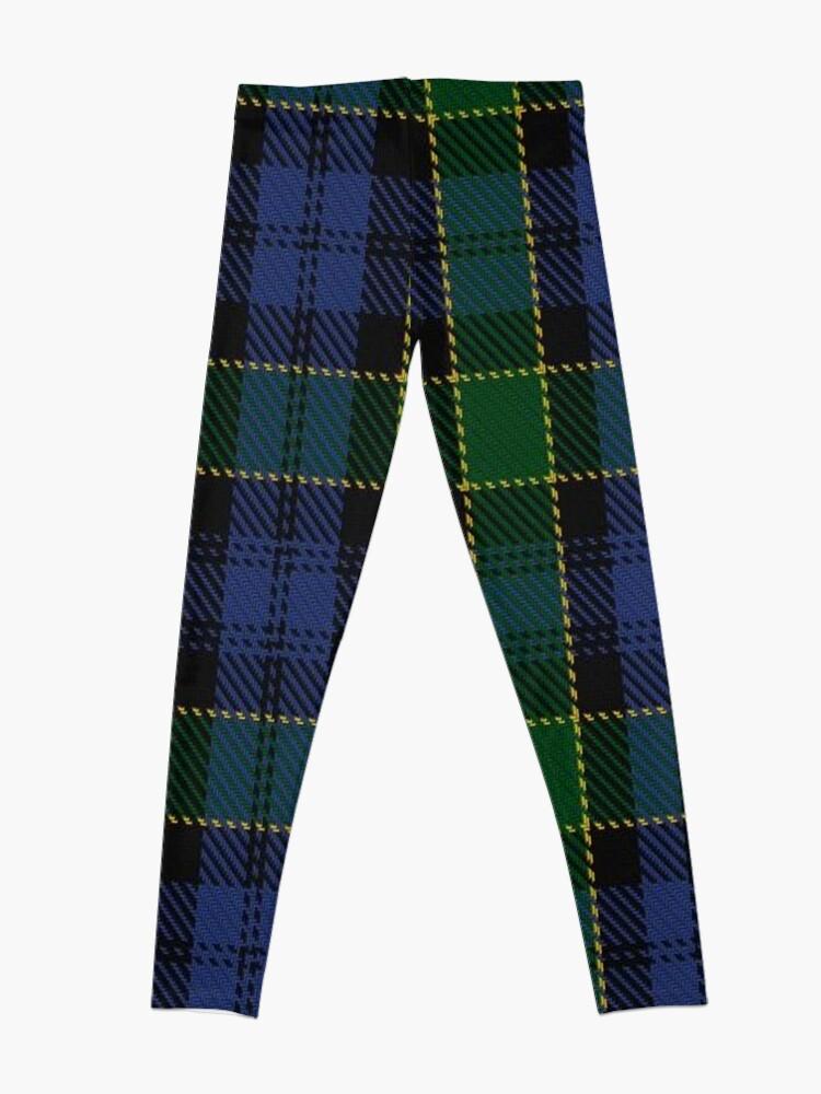 Alternate view of Campbell of Breadalbane Clan/Family Tartan  Leggings