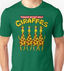 Teenage Mutant Ninja Giraffes Unisex T-Shirt