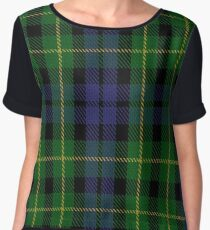 Campbell of Breadalbane #3 Clan/Family Tartan  Chiffon Top