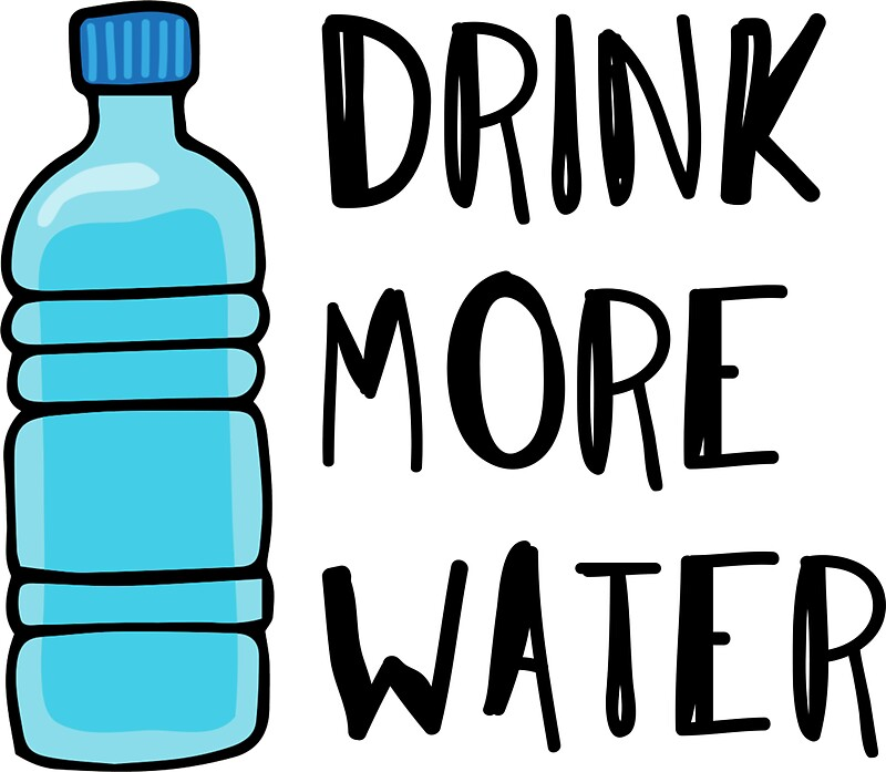 """Drink More Water - stay hydrated"" Stickers by cadinera ..."