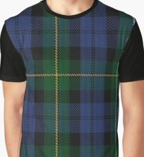 Campbell of Loudoun Clan/Family Tartan  Graphic T-Shirt