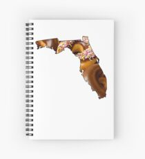 Florida State Donuts Spiral Notebook