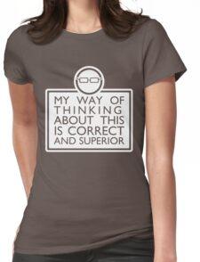 CGP Grey shirt Womens Fitted T-Shirt