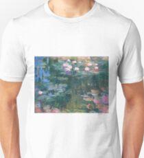Claude Monet - Water Lilies 1917 4 T-Shirt