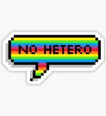 No Hetero Sticker