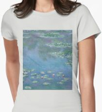 Claude Monet - Water Lilies 1906 Womens Fitted T-Shirt