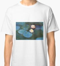 Claude Monet - Water Lilies 1899 Classic T-Shirt