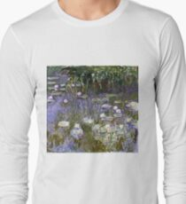 Claude Monet - Water Lilies 1922 Long Sleeve T-Shirt