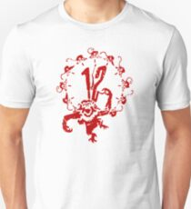 12 Monkeys - Terry Gilliam - Red on White Unisex T-Shirt