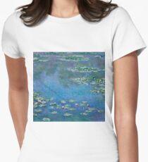 Claude Monet - Water Lilies 1906 Women's Fitted T-Shirt
