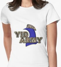 The Yid Army - Tottenham's Faithful Fans Women's Fitted T-Shirt