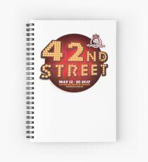 The Regals - 42ND STREET Spiral Notebook