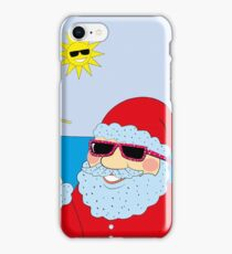 Funny Santa Claus iPhone Case/Skin