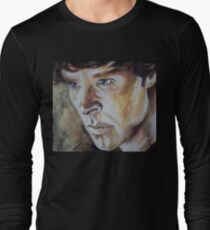 Benedict Cumberbatch Sherlock inspired fan art Long Sleeve T-Shirt