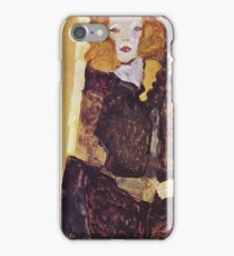 Egon Schiele - The Brother 1911 iPhone Case/Skin
