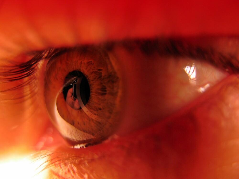 Eye Reflection by Tommy Seibold