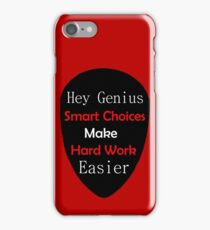 Genius Make Easy iPhone Case/Skin
