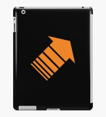 Orange arrow iPad Case/Skin