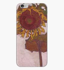 Egon Schiele - Sunflower 1909 iPhone Case