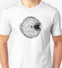Surfer Phobia - Round Monster Fish Unisex T-Shirt