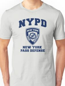 NEW YORK PASS DEFENSE all blue Unisex T-Shirt