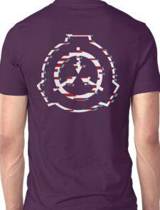 SCP Foundation symbol glitch Unisex T-Shirt