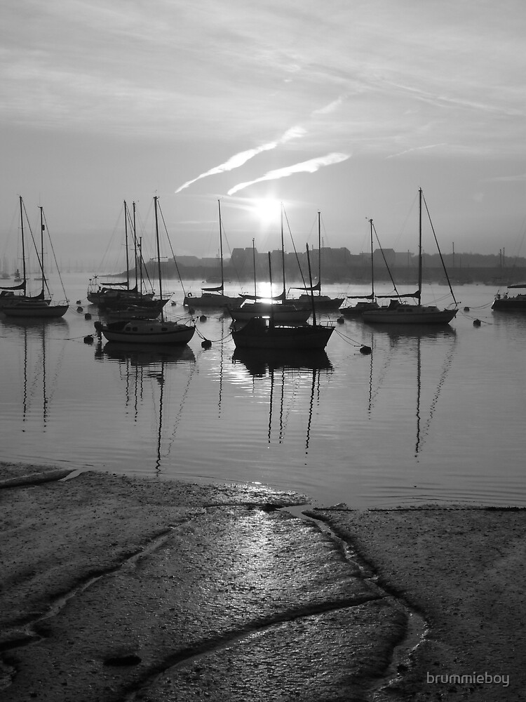 Black & White morning by brummieboy